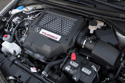 2011 Acura RDX Turbo Engine