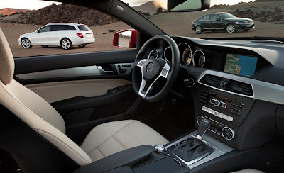 2012 Mercedes-Benz C-Class Car Interior