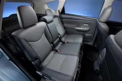 2012 Toyota Prius V Rear Seats
