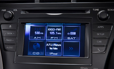 2012 Toyota Prius V Infotainment Display