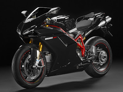 Ducati 1198 Sp. 2011 Ducati 1198SP Black Color