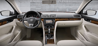 2012 Volkswagen Passat Car Interior