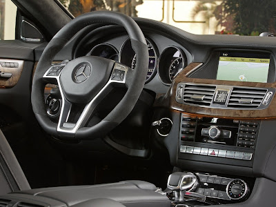 2012 Mercedes-Benz CLS63 AMG Interior View