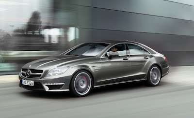2012 Mercedes-Benz CLS63 AMG Unveiled