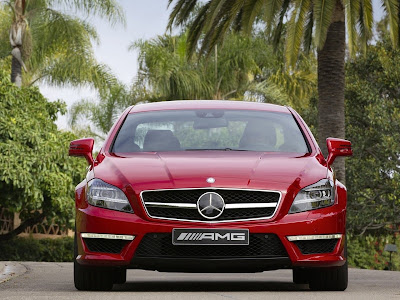 2012 Mercedes-Benz CLS63 AMG Front View