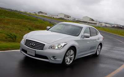 2012 Infiniti M35 Hybrid Official Photos