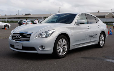 2012 Infiniti M35 Hybrid Pictures