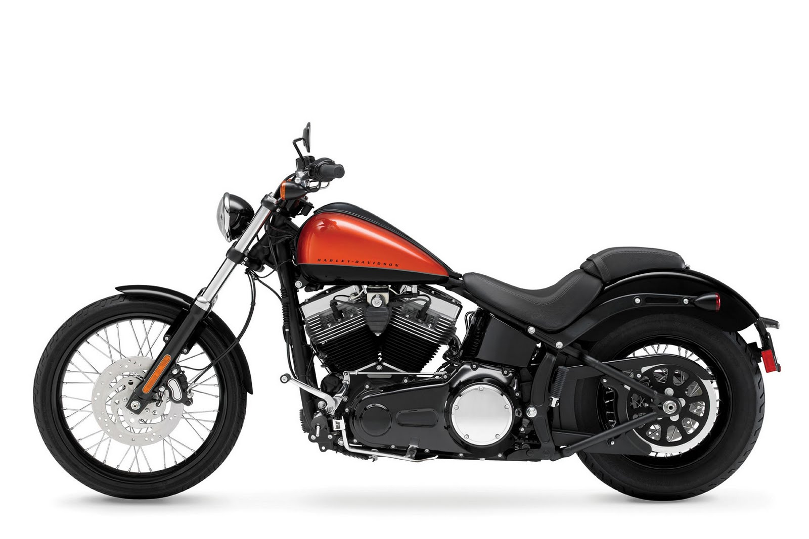 2012 Harley-Davidson Black Line