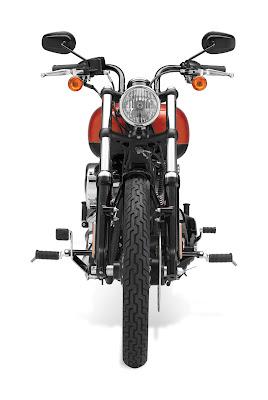 2011 Harley-Davidson FXS Blackline Softail Front View