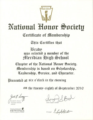 happy clean living national honor society With national honor society certificate template