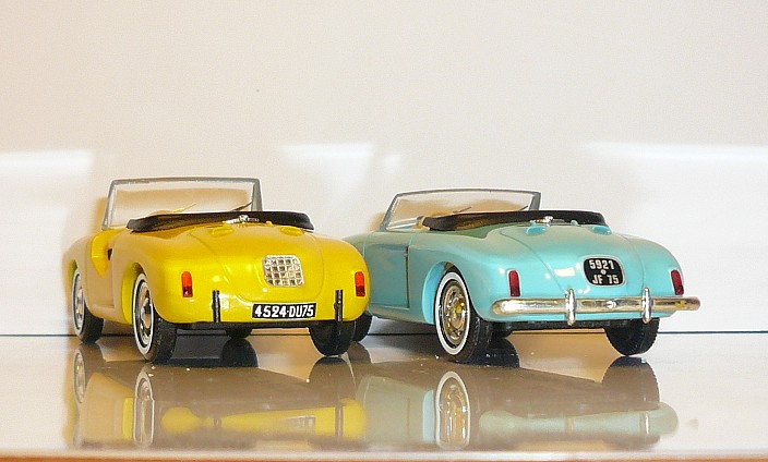 garage de poche jip u00e9  4 cv brissonneau  u0026 lotz roadster 1957