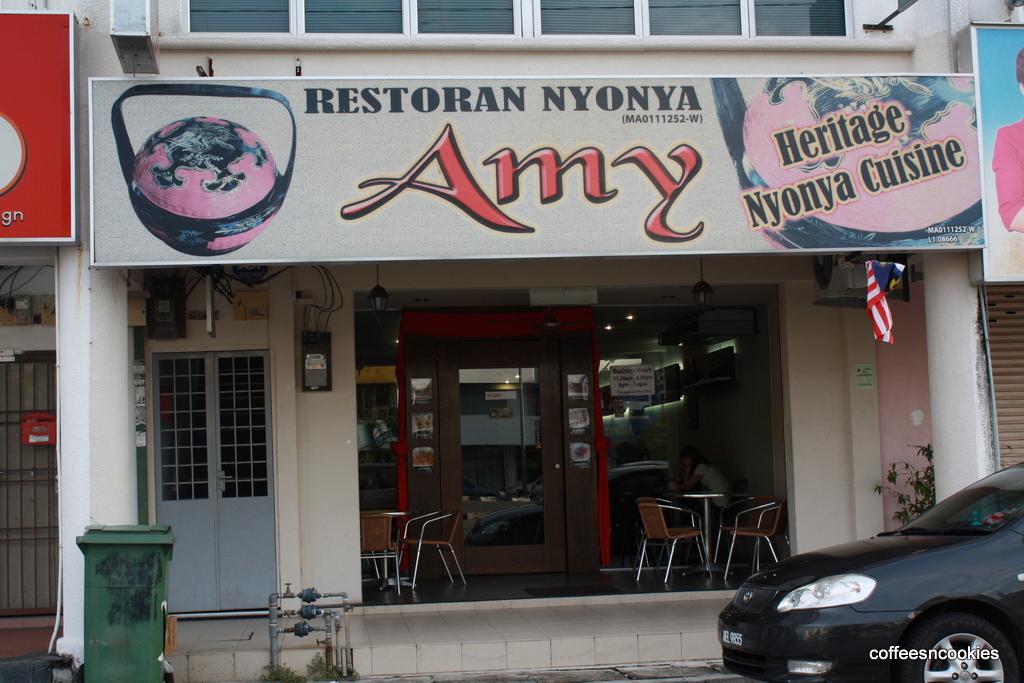Ramblings amy heritage nyonya cuisine for Amy heritage nyonya cuisine