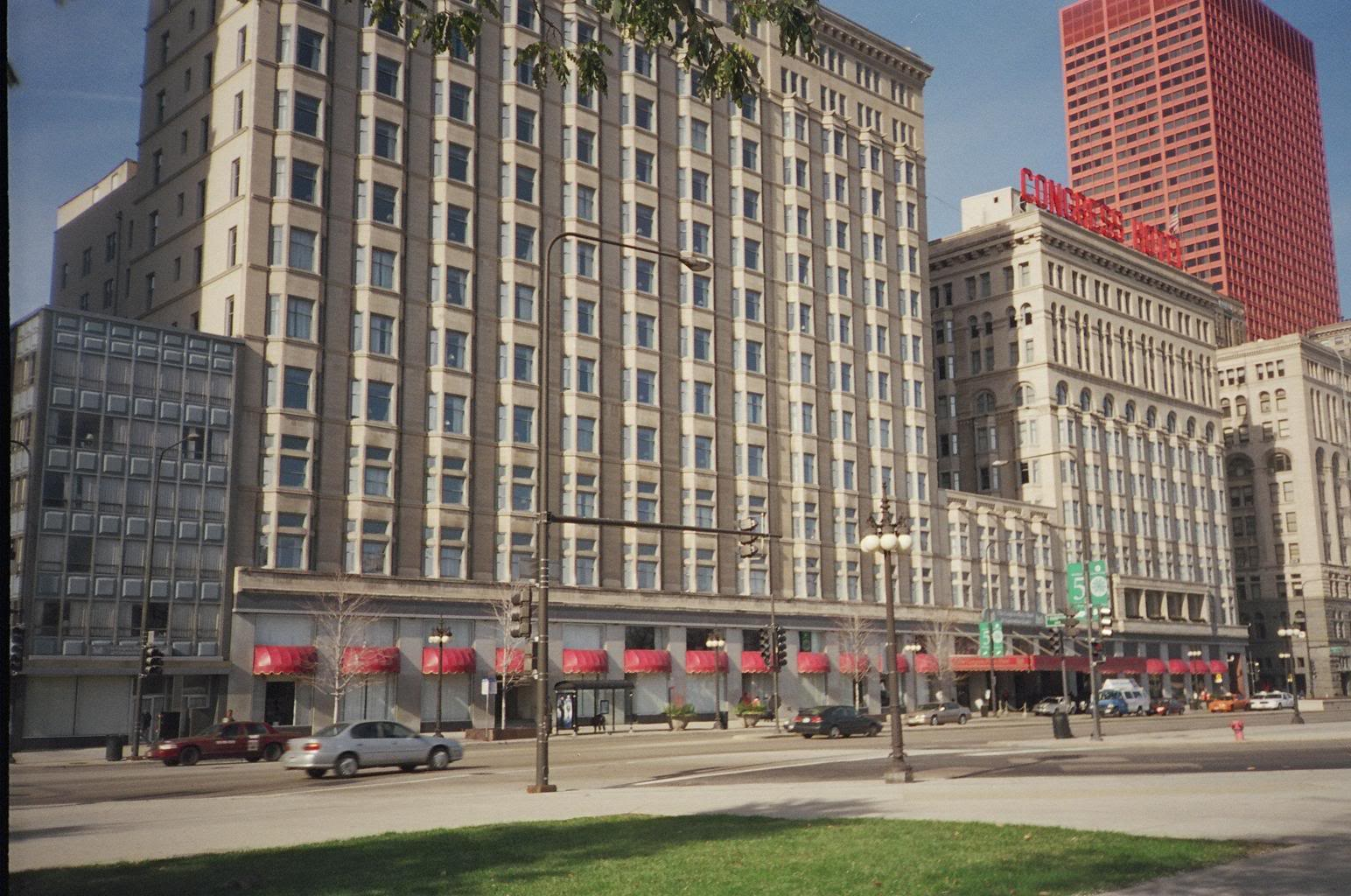 The Congress Plaza Hotel Stands On Michigan Ave In Nation S Windy City Of Chicago Reported To Be Most Haunted It Was Built
