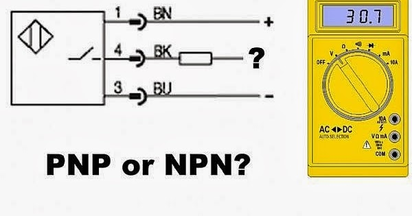 [QMVU_8575]  Automation and Controls: How to Test Whether a Sensor has a PNP or NPN Type  Output Using a Multi meter | Inductive Proximity Sensor 3 Wire Wiring Diagram |  | Automation and Controls - blogger