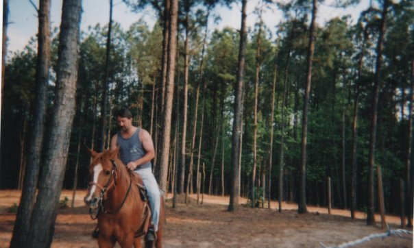 My Man and My Horse:)