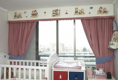 cortinas para bebes