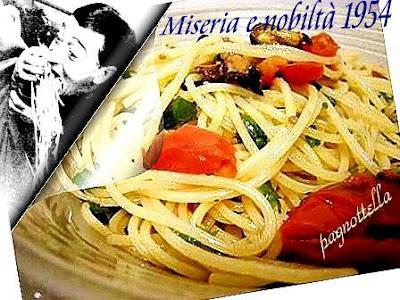 spaghetti con le cozze alias miseria e nobilta