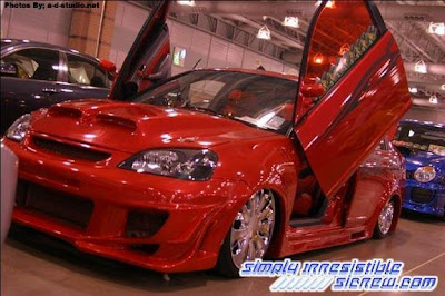 2005 Acura  Type on Pimped Cars  Pimped Out Honda Civic   Award Winner