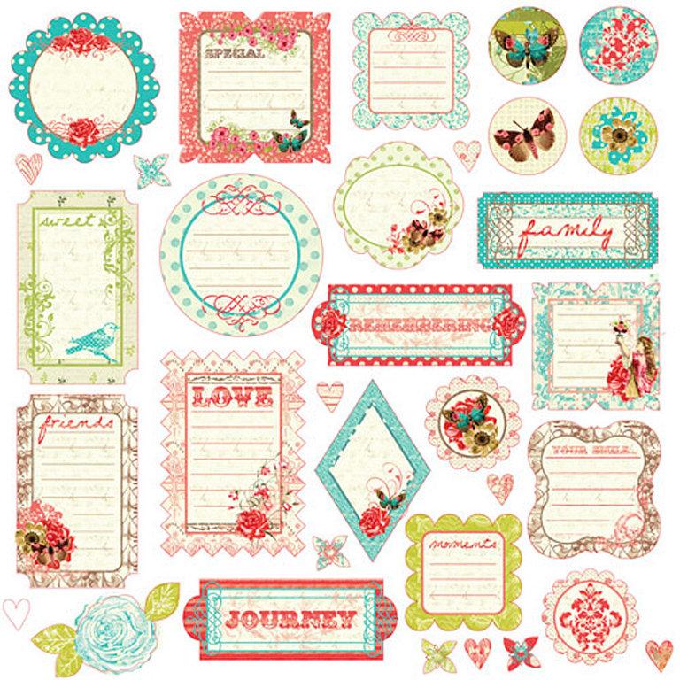 Laminas decoupage etiquetas para regalos scrap - Etiquetas para regalos para imprimir ...