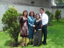 Caroline, Ivonne, Leslie, Jesus