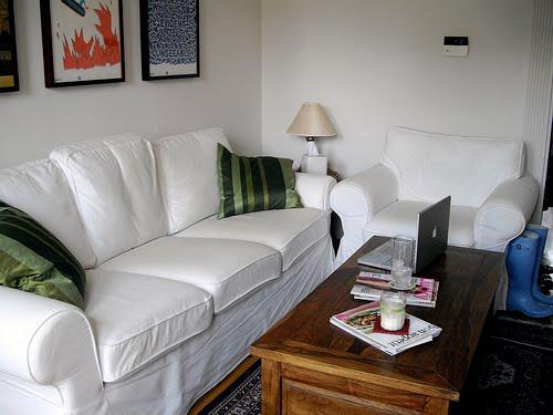 Shabby chic lifestyle altre idee per il salotto for Divano ektorp ikea
