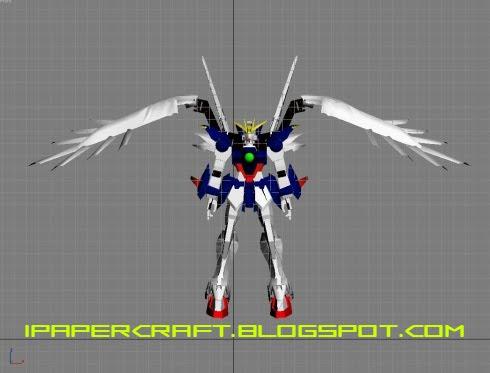 HD Gundam Wing Zero  Gundam-wing-papercraft