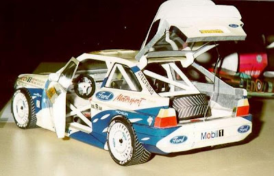 Car Papercraft - Ford Escort RS Cosworth