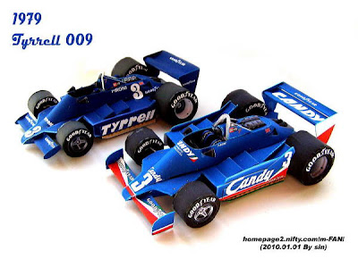 Formula  One Papercraft - 1979 Tyrell 009