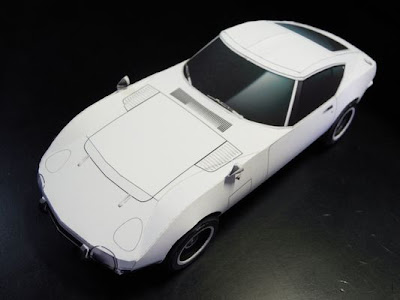Car  Papercraft - TOYOTA 2000GT