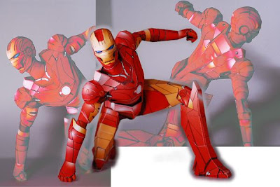 Super Hero Papercraft - Iron Man 2