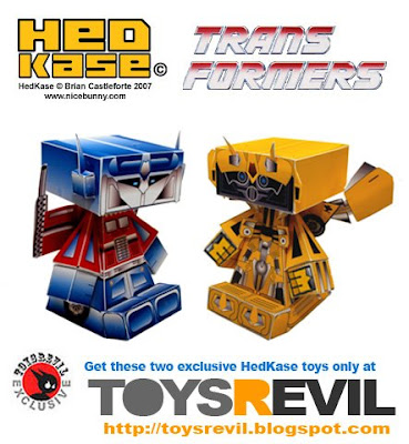 Transformers HedKase Toys