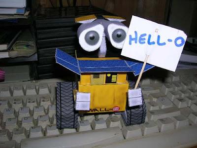 Robot Papercraft - WALL·E