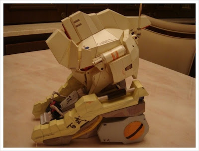 Gundam Papercraft - MSN