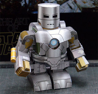 iron man mark 1 papercraft from shunichi makino iron man mark 1 is the