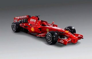Formula 1 Papercraft - Ferrari F2008