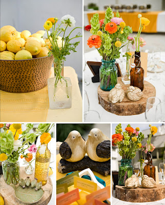 Need centerpieces that match mason jars wedding Outdoor Wedding Jp 13