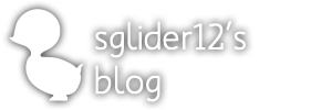 SGlider12&#39;s Blog