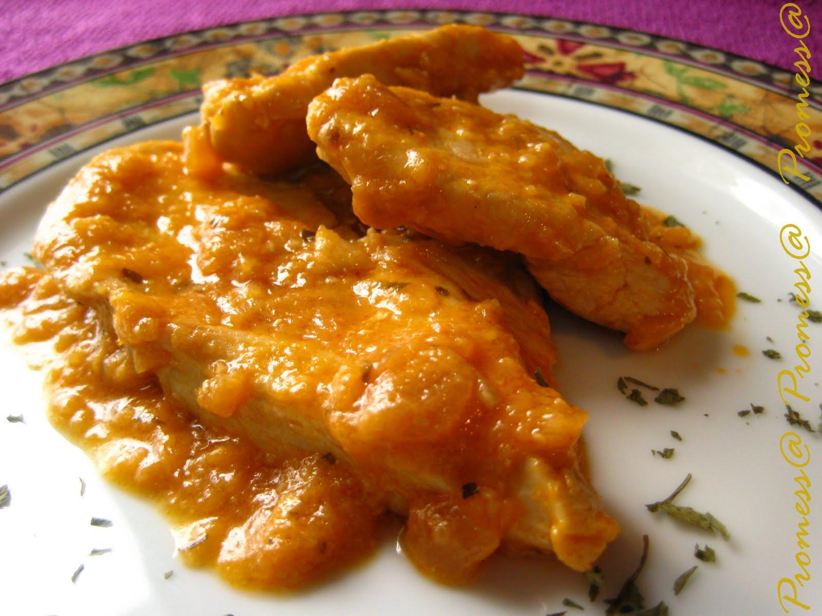 Las imagenes de pechugas de pollos cocinadas por lo chef - Pechuga d pollo en salsa ...