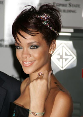 Rihanna New Tattoo Neck