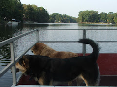TAKING A RIDE ON OUR LAKE