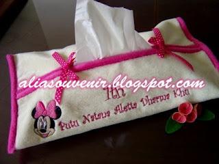 souvenir cover tisu