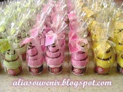 Pin tahlil dan doa ajilbabcom portal cake on pinterest for Idea doorgift untuk aqiqah