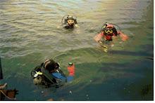 Inicio de la inmersión