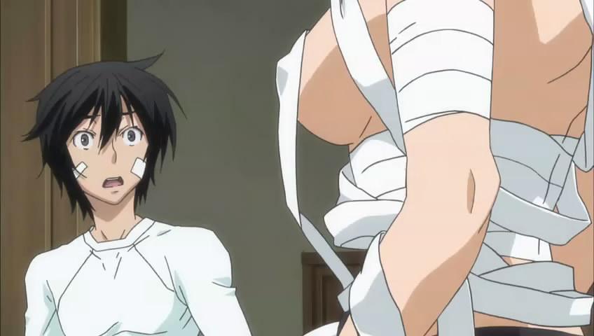 sekirei welcome homura into the gang homura is feeling happy but    Sekirei Minato And Homura
