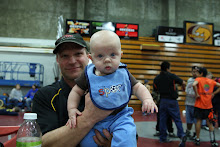 Coop and Dad at Districts
