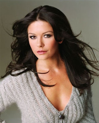 Catherine Zeta Jones| playing bingo