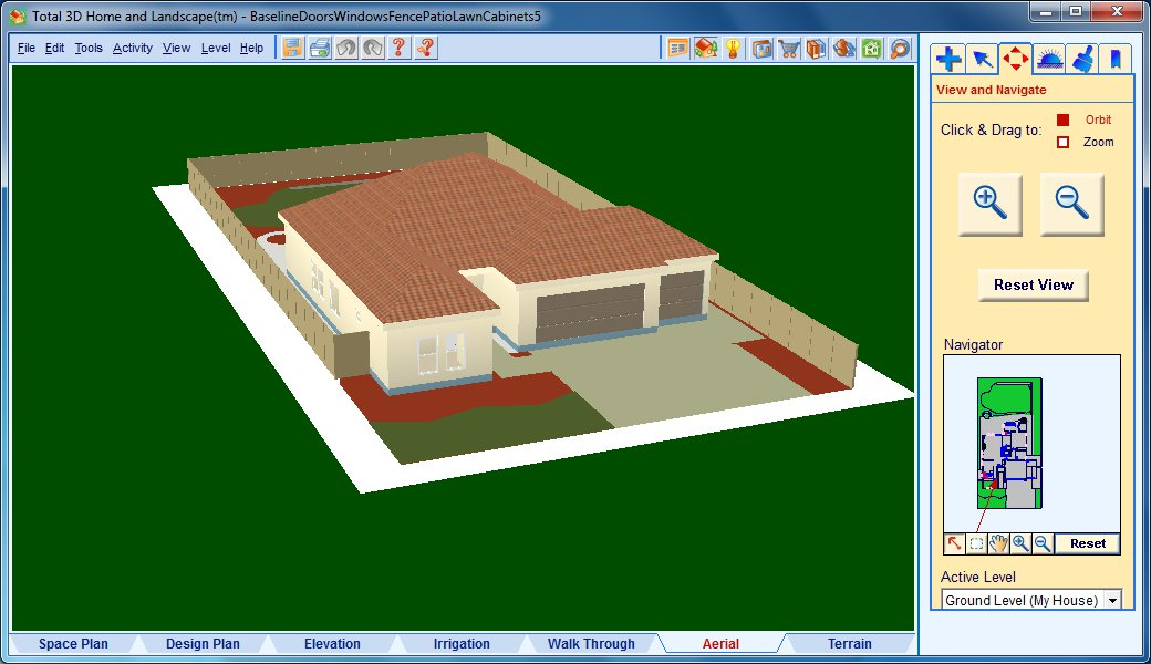 Davis: Technoblog: Total 3D Home, Landscape & Deck software review