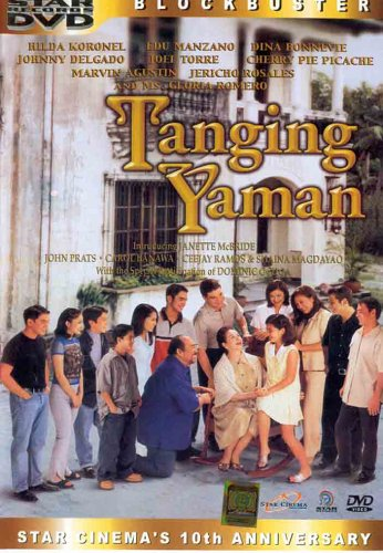 """cast and character of tanging yaman Gloria romero gained grand slam best actress status for the 2000 film """"tanging  yaman"""" where she won all trophies from famas, gawad urian,."""