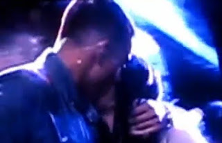 Jay Sean kissing a gay man