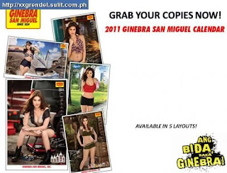 Anne Curtis sexy photos Ginebra Calendar 2011